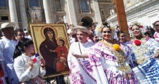 Cruz Peregrina y el Icono de la Virgen María Salus Populi Romani