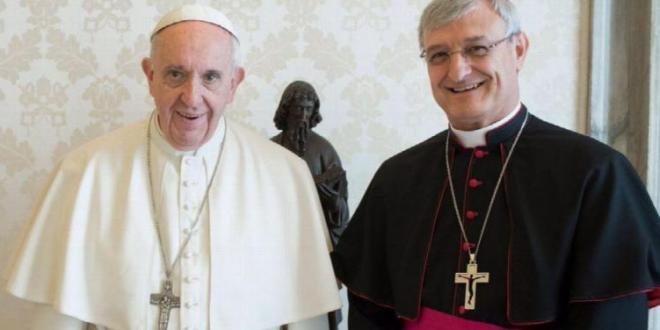 El papa se reúne con el nuncio Carrascosa Coso