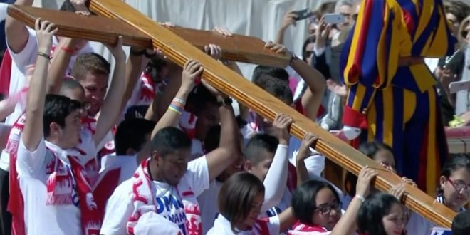 JMJ 2019 El Domingo de Ramos jóvenes panameños recibirán la Cruz Peregrina