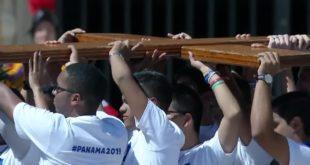 La Cruz Peregrina cruzará el océano rumbo a la JMJ Panamá 2019