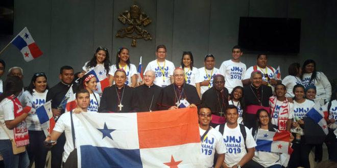 PANAMÁ Jóvenes panameños reciben la cruz de la Jornada Mundial de la Juventud