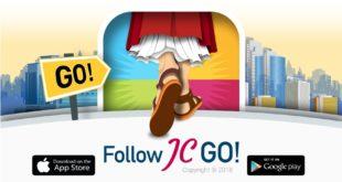 Publicidad de la APP Follow JC Go! - 1