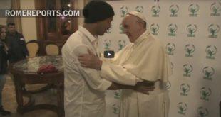 El Papa Francisco y Ronaldinho lanzan el segundo partido por la paz